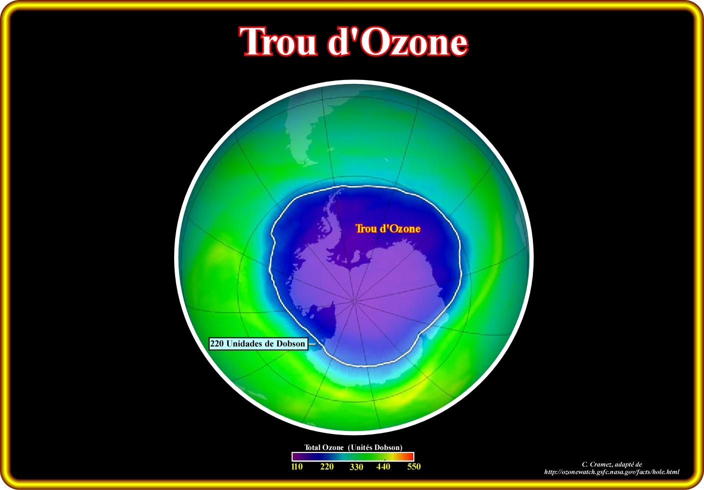 Page r terms - Consequences de la destruction de la couche d ozone ...